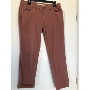LC Lauren Conrad Cropped Denim Pants